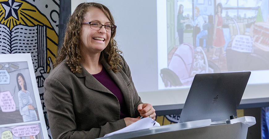 Political Science Professor Jessica Trounstine is the first faculty member to receive the UC Merced Foundation Board of Trustees Presidential Chair.